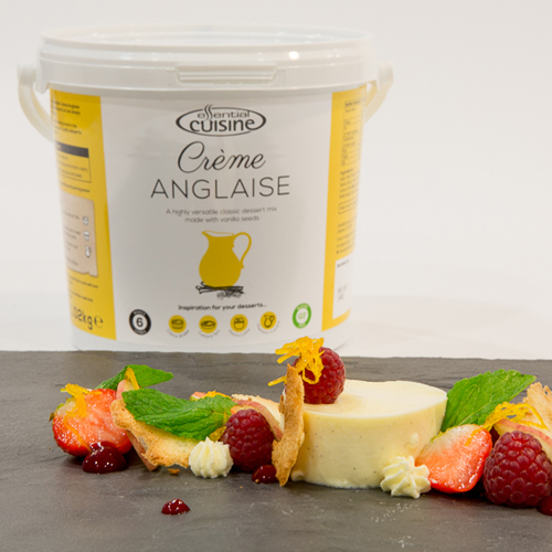 Essential Cuisine Set to Sweeten Menus with New Crème Anglaise