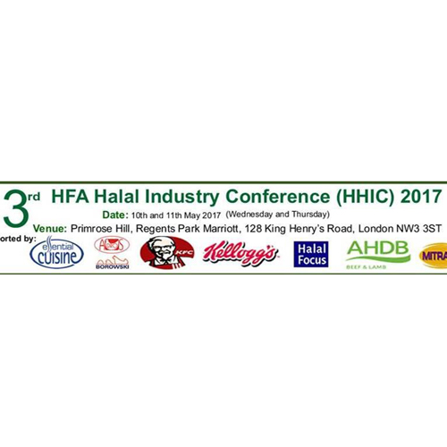 Essential Cuisine proud sponsors of Halal Food Authority Conference