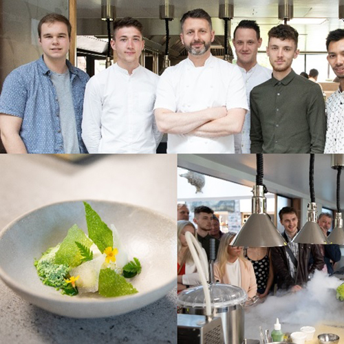 Michelin Masterclass with Mark Birchall for Young Chef Finalists