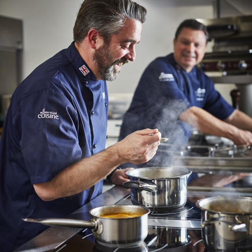 Essential Cuisine Brand Refresh Offers Timely Chance to Put Chef Team Centre Stage
