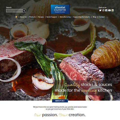 Host of Innovative Features Lead as New Essential Cuisine Website Goes Live