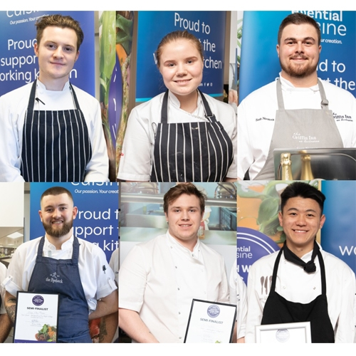 Six of The Best Ready Themselves for  North West Young Chef Final