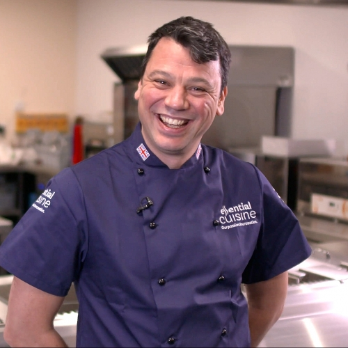 Robin Dudley, Essential's Chef of the Month!