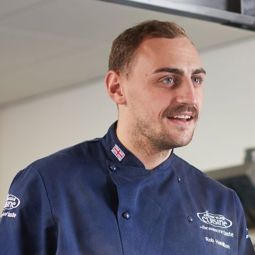 Rob Hamilton, Essential's Chef of the Month!