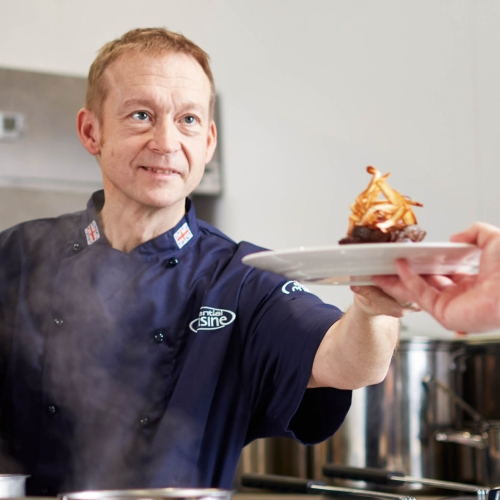 Simon Jolly, Essential's Chef of the Month!
