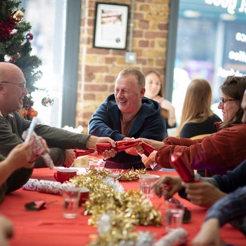 Essential Cuisine donate to Crisis at Christmas