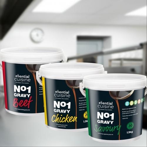 Gravy as it should be - Essential Cuisine's No1 Gravy Range!