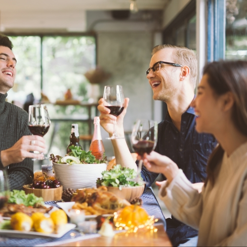 Changes in customer behaviour when dining out