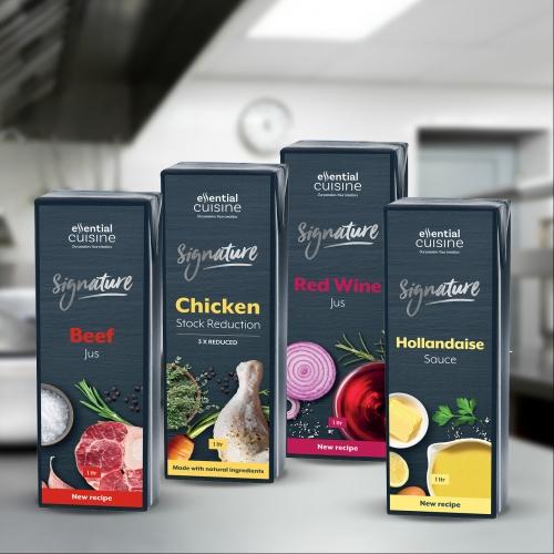 Essential Cuisine launch improved Signature range