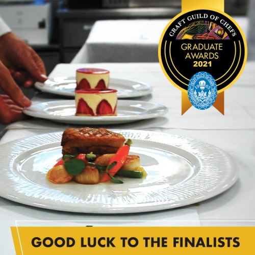 Thirteen finalists revealed for the Craft Guild of Chefs Graduate Awards 20