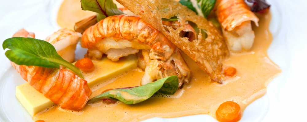 Lobster, Red Thai and Coconut Cream