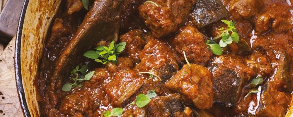 North African Lamb Neck Stew