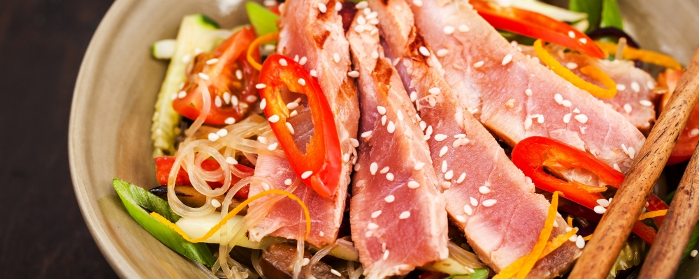 Tuna Glass Noodle Salad