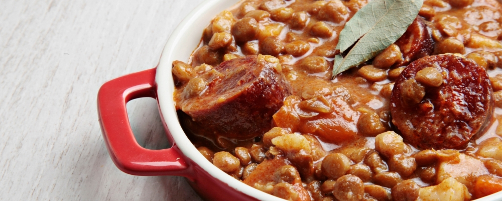 Lentil and Chorizo Stew