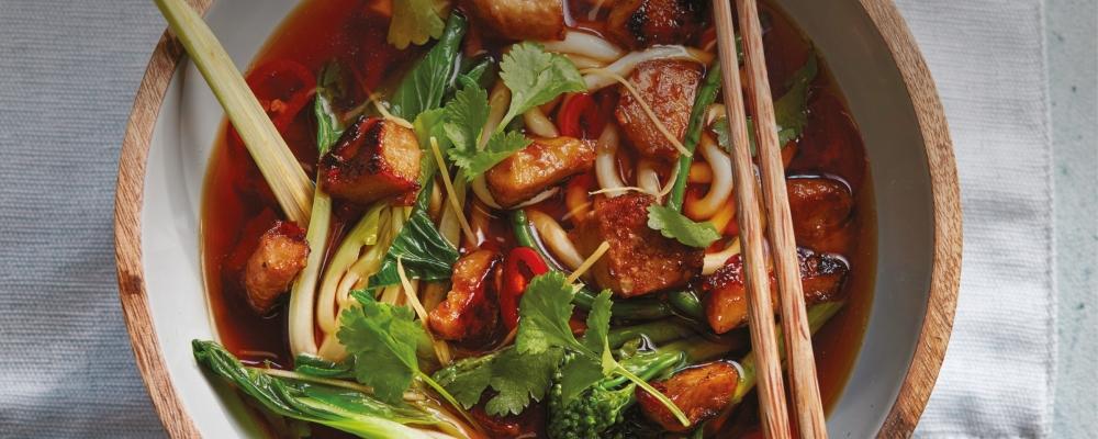 Veggie Satay Miso Ramen