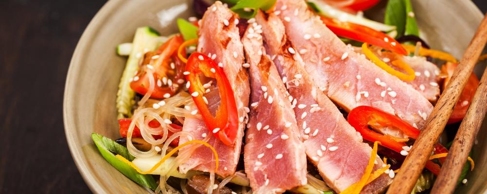 Aromatic Tuna Glass Noodle Salad