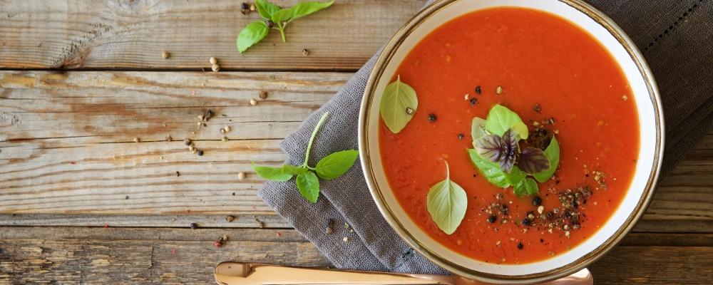 Tuscan Tomato and Basil Soup