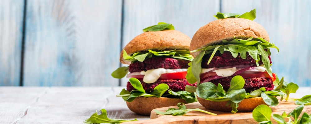 Beetroot and Halloumi Sliders