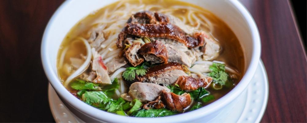 Thai Spiced Duck Broth