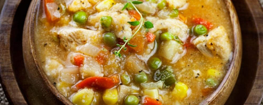 One Cauldron Chicken Stew