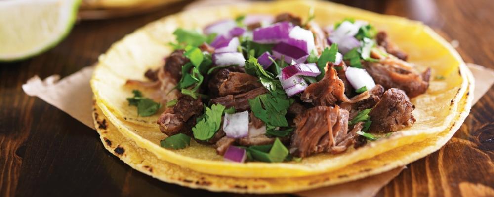 Shredded Beef Cheek Taco