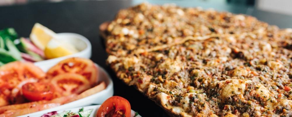 Lahmucan Persian Pizza