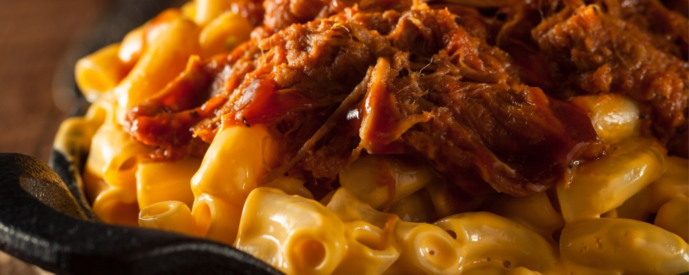 Beef Brisket Mac n Cheese