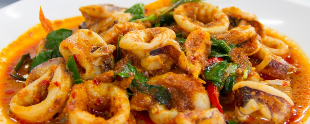 Mauritian Squid Curry