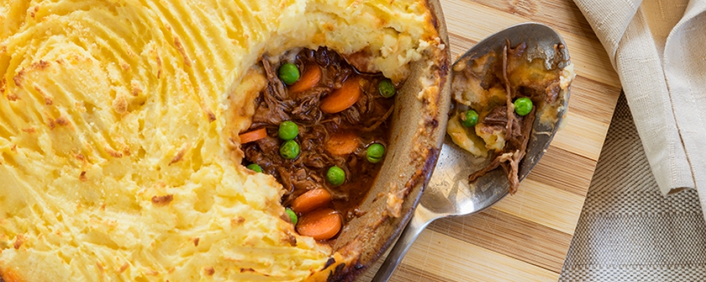 Braised Pulled Beef Cottage Pie
