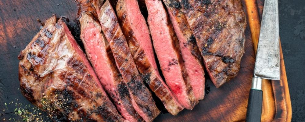 Asian Aromatic BBQ Flank Steak