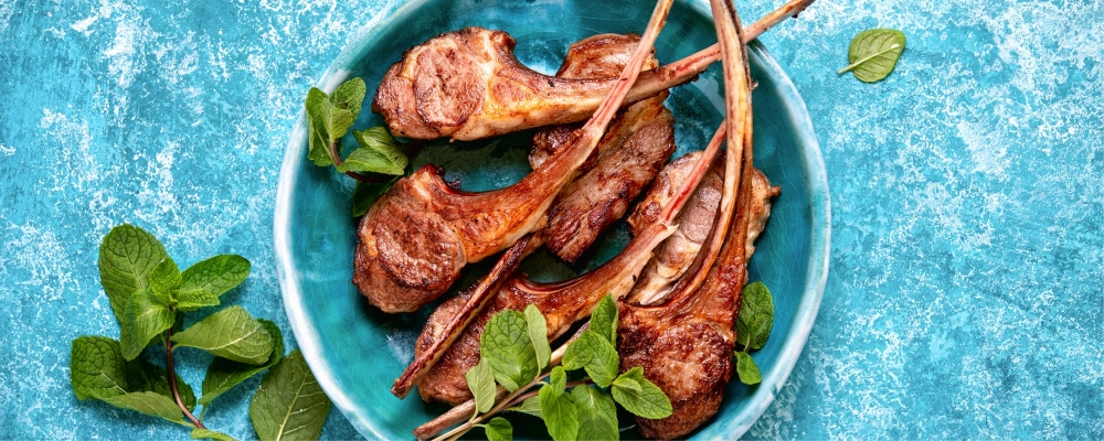 BBQ Persian Lamb Chops