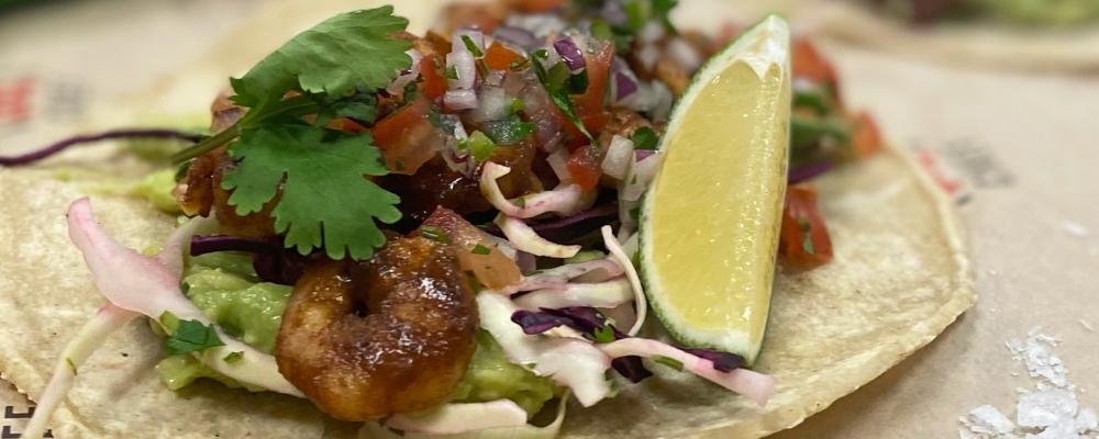Tacos De Gambas