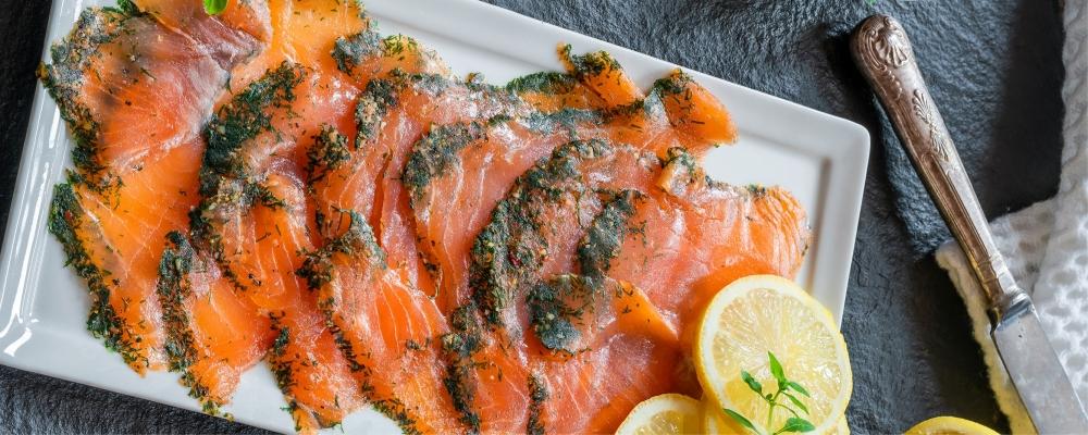 Aromatic Asian Spiced Salmon Gravadlax
