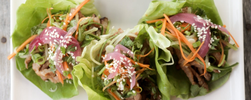 Korean Pork Lettuce Wrap - View recipe