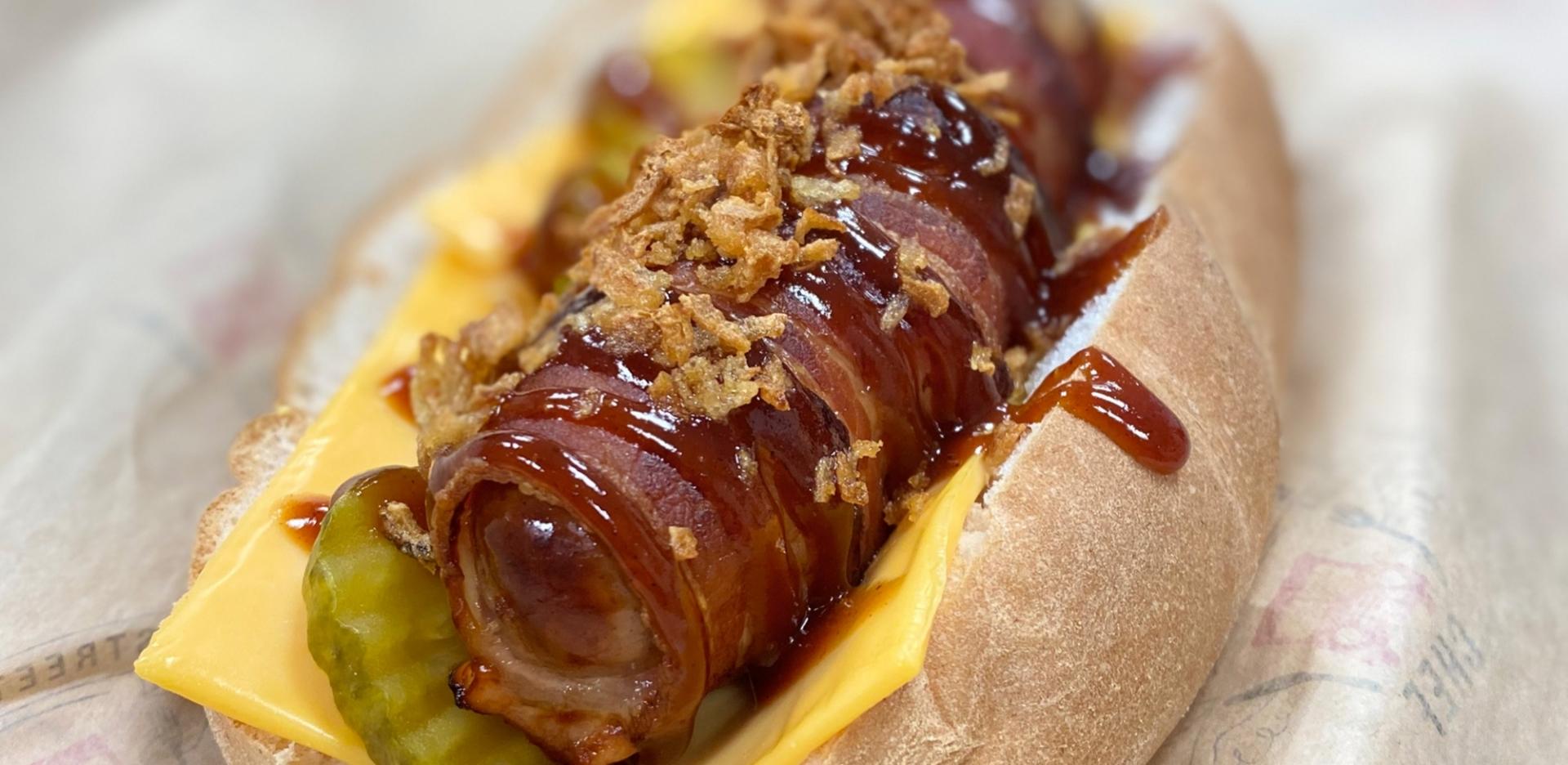 American Style Hot Dog