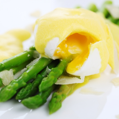 Asparagus, Poached Egg and Hollandaise