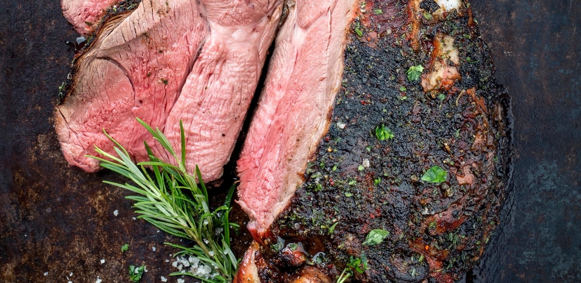 BBQ Island Seasoned Leg of Lamb