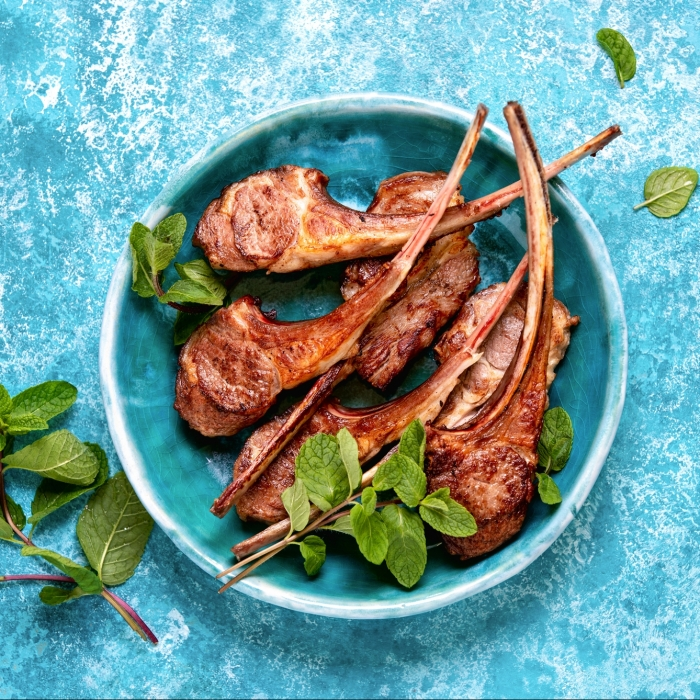 BBQ Persian Lamb Chops