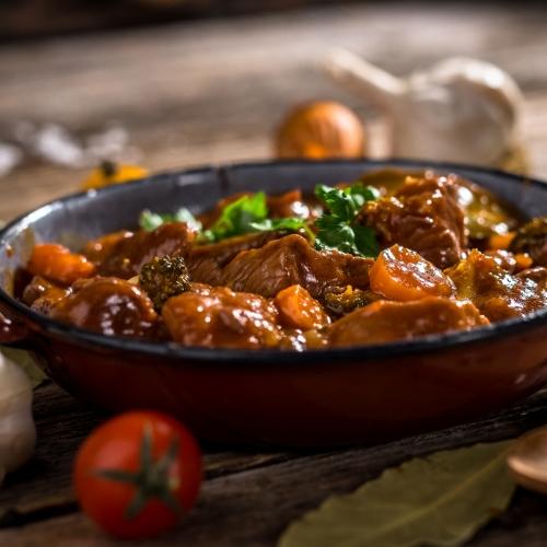 Braised Beef and Chorizo Casserole