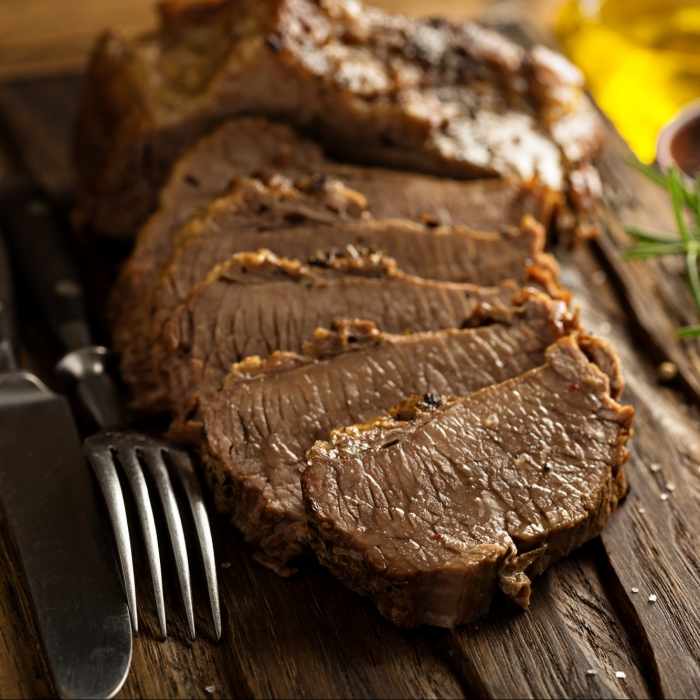 Braised Flank of Beef