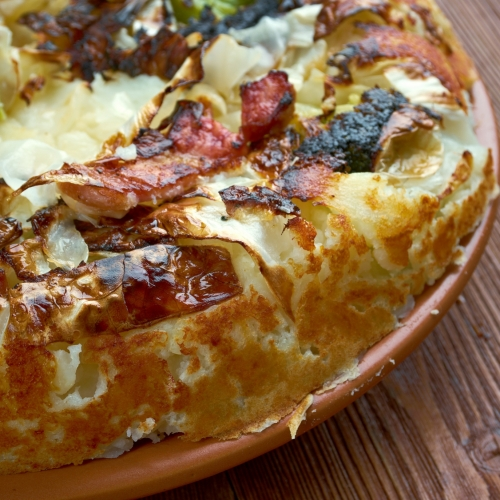 Bubble and Squeek with Cocotte Eggs