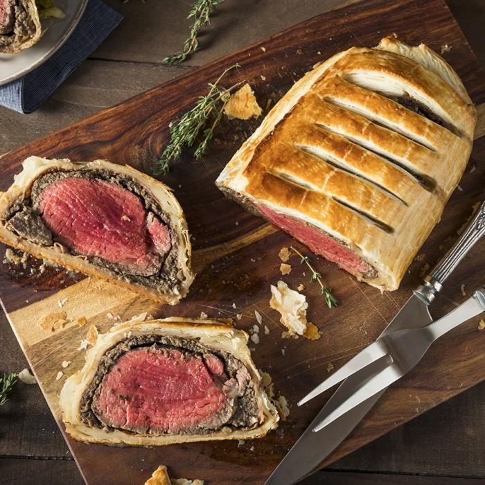 Christmas Beef Wellington
