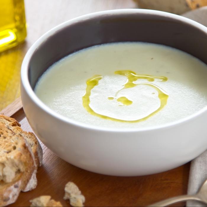 Cream of Celeriac Soup with Truffle