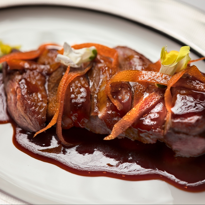 Duck and Orange Sauce