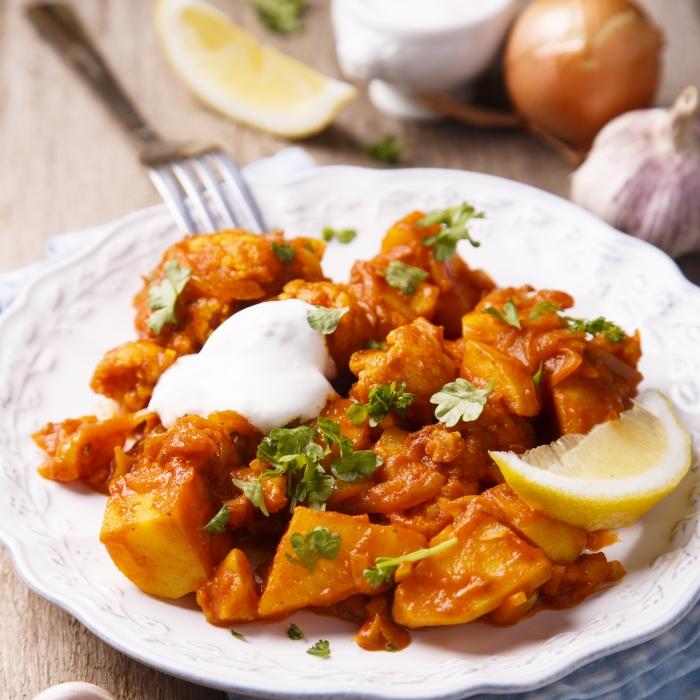 'Essential' Veggie Balti
