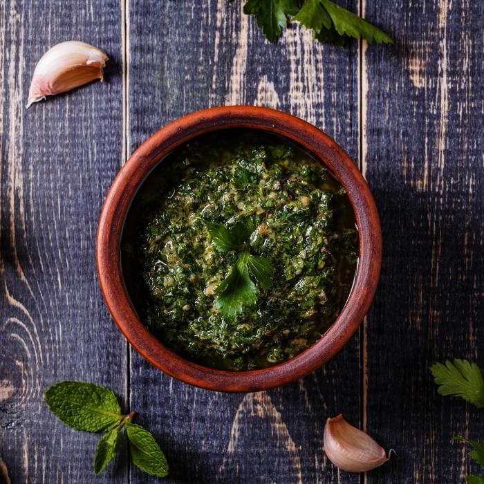 Flame Grilled Salsa Verde