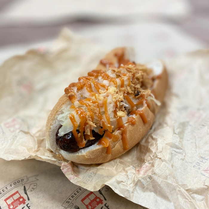German Style Hot Dog