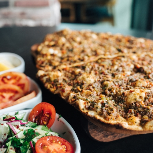 Lahmacun (Persian Style Pizza)