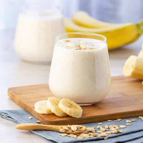 Low Fat Banana Smoothie