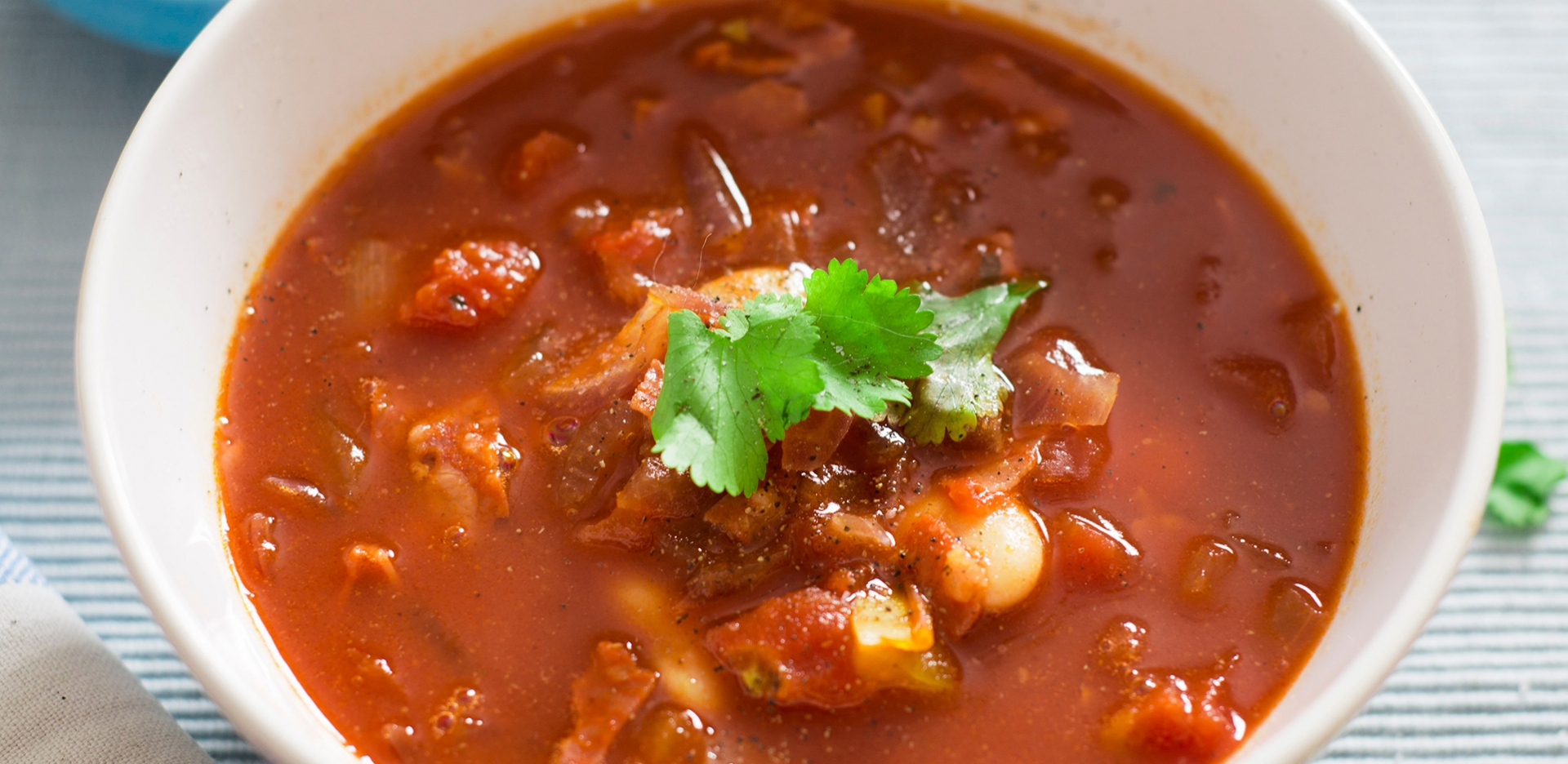 Mediterranean Vegetable and Chorizo Soup